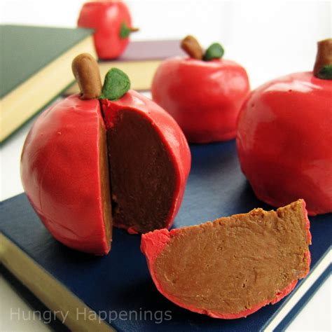 inside out chocolate caramel apples teacher appreciation treats