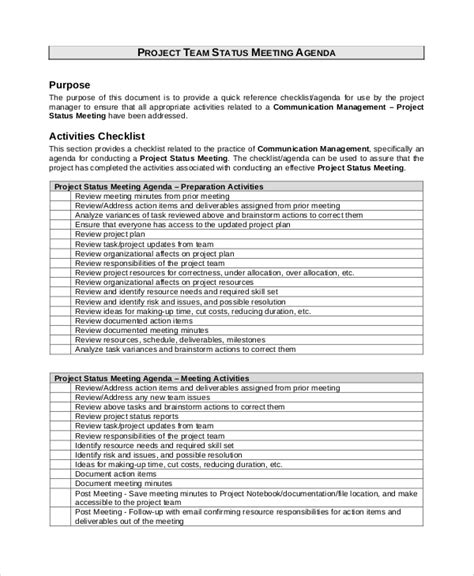 meeting agenda samples examples templates  examples   word