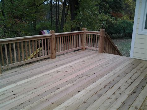 Latest Home Interiors cedar decking creve couer mo schrader s contracting