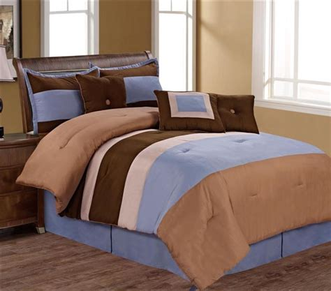 pollack 4 piece full comforter sets easy care microfiber