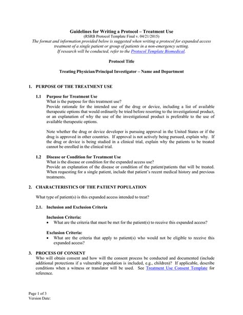 protocol synopsis template protocol synopsis template outletsonline info
