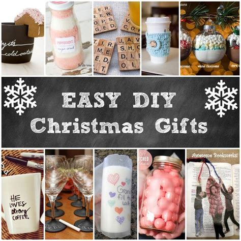 great homemade gifts for christmas inexpensive ideas on