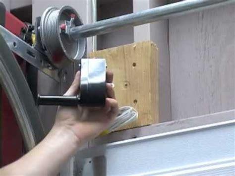 Garage Door Tension Cable by Garage Door Tension Cable Garage Wiring Diagram And