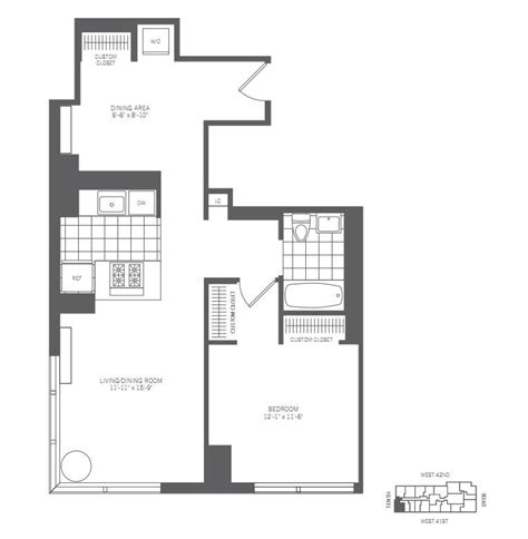 1 bedroom apartment manhattan full image for studio 450 west 42nd street rentals mima apartments for rent