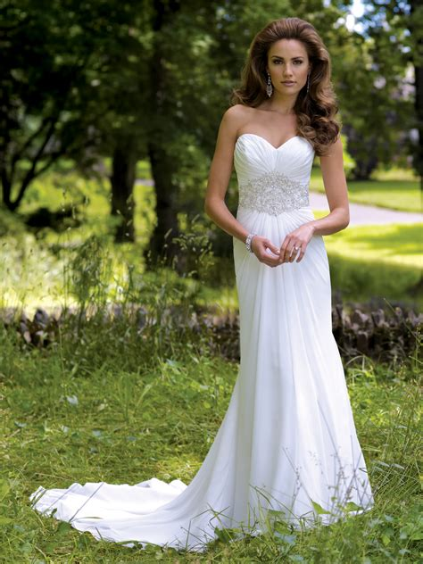 Dresses For Backyard Casual Wedding by Cheap Casual Wedding Dresses Alluring Gown