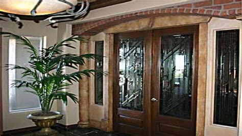 Residential Glass Entry Doors Front Entryway Designs Front Foyer Before After Pink Notebookpink Mudroom Ideas Design