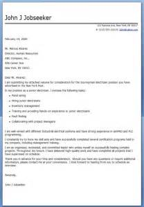 Electrical Cover Letter by Journeyman Electrician Cover Letter Exles Resume
