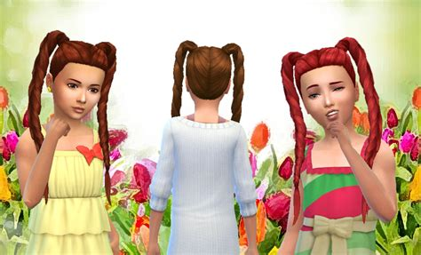 sims 4 girl hair braids my sims 4 blog kiara24 long braids hair for girls