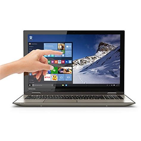 toshiba p55w c5208x 4k satellite radius 2 in 1 15 6 quot ultra hd touch screen laptop intel i7