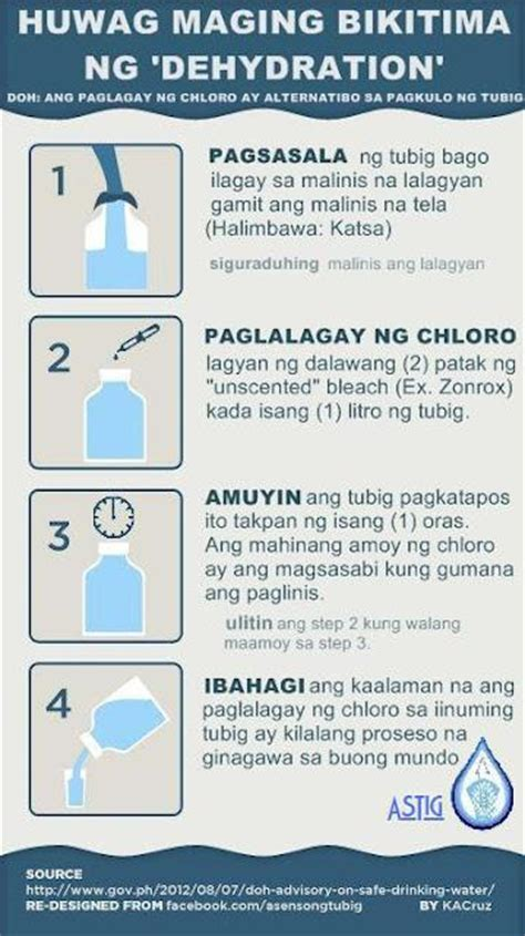 how to make drink water how to make safe water during calamity paperblog