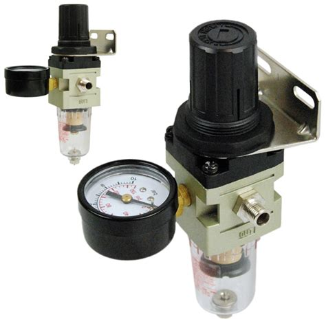 Regulator Compressor hd air pressure regulator airbrush compressor water trap moisture filter ebay