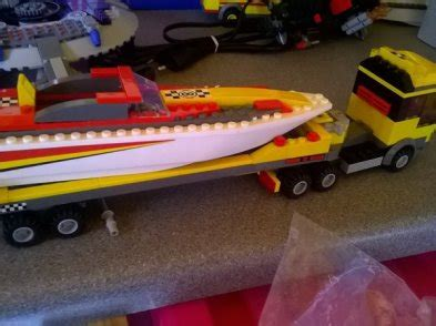 lego bass boat lego boat transporter lorry for sale in kilcullen kildare