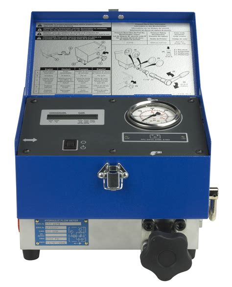 high pressure hydraulic flow meter hydraulic flow meter 100 gpm otc tools