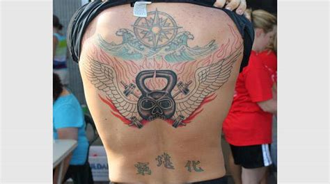 crossfit tattoos the 25 worst inspired tattoos complex