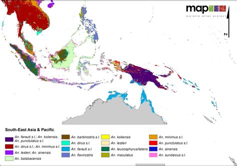 middle east malaria map global distribution of the dominant vector species of