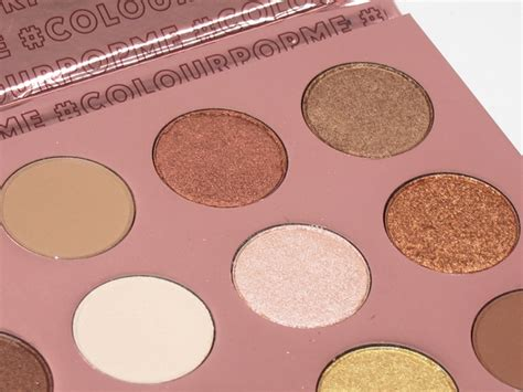 Colourpop Eyepalette I Think I You comment on colourpop i think i you eyeshadow palette review swatches by genevieve