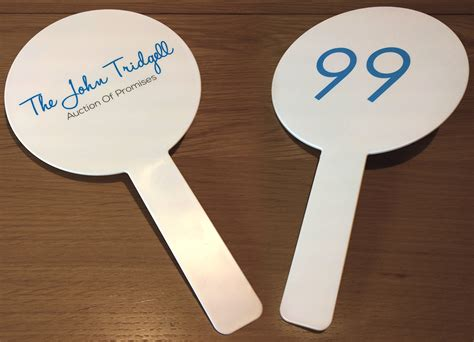 Auction Paddles Help Charity Auction Uk Corporate Gifts Auction Paddle Number Template