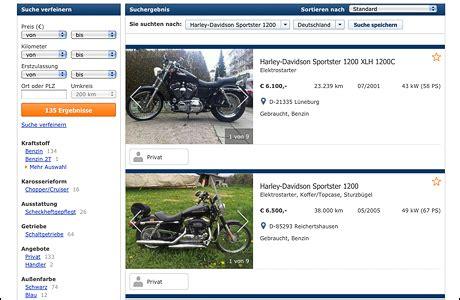 Gebrauchtmotorrad Portale by Die Beliebtesten Gebrauchtmotorr 228 Der Tourenfahrer