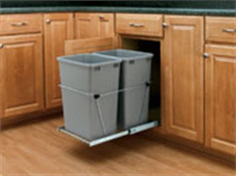 Kitchen Waste Solutions by Pull Out Waste Containers Rta Cabinet Store
