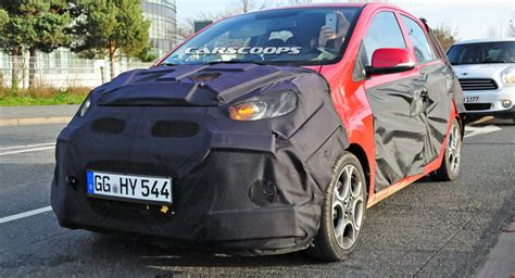 second kias kia s picanto city car spied in facelifted form carscoops