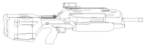 pattern energy revolver halo 4 weapon templates halo costume and prop maker