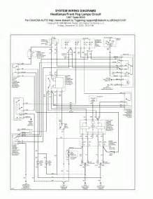 pdf ebook 1997 saab 9000 headls front fog ls circuit wiring diagrams