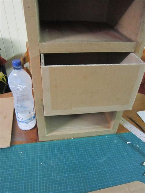 comment fabriquer un tiroir en tuto cartonrecup