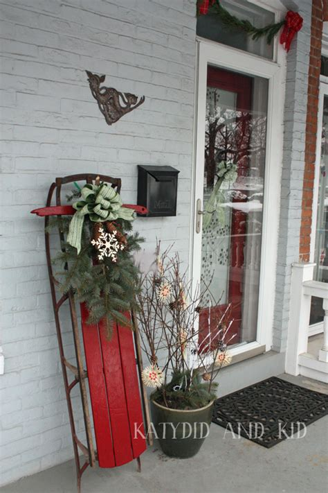 how to decorate sled top sleigh decorations celebration all about