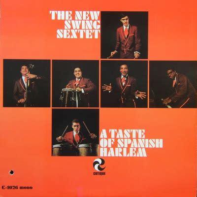 the new swing sextet latin vinyl junkie lvj the new swing sextet a taste of