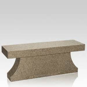 Cremation Benches Reminisce Granite Cremation Bench