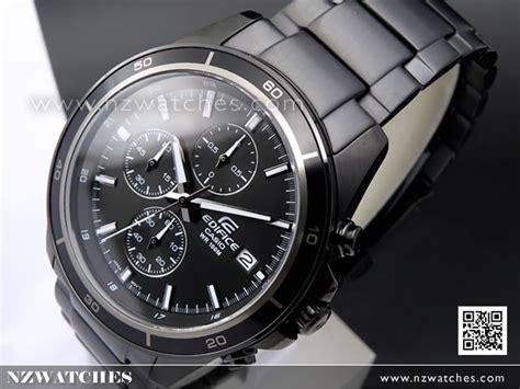Casio Edifice Efr 526bk 1a1 buy casio edifice chronograph all black 100m sport