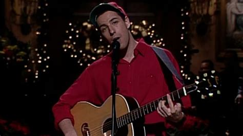 watch adam sandler performs his christmas song from