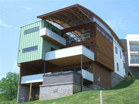 bow house design bow house ryan thewes nashville modern architect