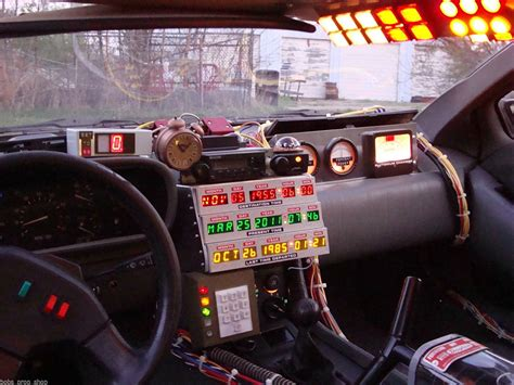Buy Your Own Time Machine On Ebay by Delorean Time Machine Conversion Mod Back To The Back To