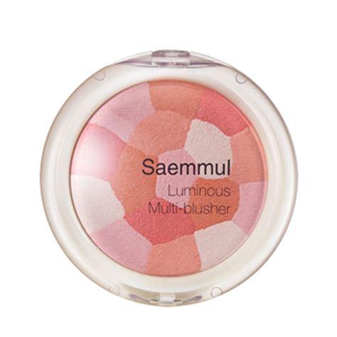 The Saem Saemmul Luminous Multi Blusher the saem saemmul luminous multi blusher 8g