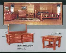 red cedar bedroom furniture cedar log bed kits rustic furniture mall by timber creek