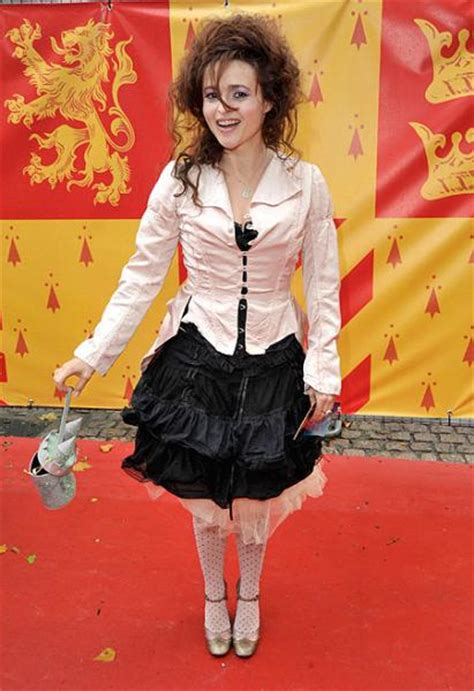 Helena Bonham Carries Intestine Bag At Harry Potter by Hoping For A Spell Daniel Radcliffe And Harry Potter