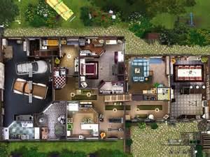 Master Bedroom Floor Plans sims 3 residential lotta restored farm gulfhaus