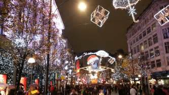 Amazing Christmas Lights Christmas Lights Oxford Street Britishcall