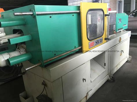 chen hsong master 50t used injection molding machine
