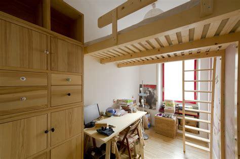 soppalchi letto soppalco legno moderno da letto altro di