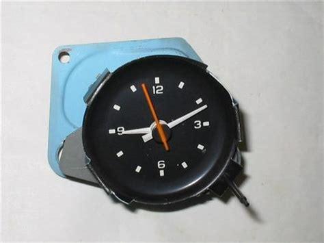 corvette clock repair 1980 1981 corvette clock c3 with nos movement oem fits