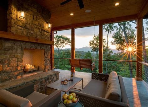 mountain craftsman meets modern modern home  waynesville