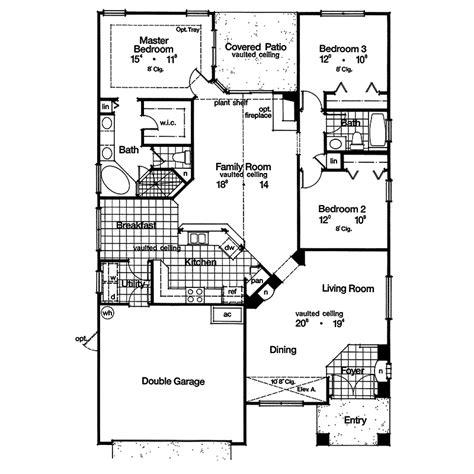 southwestern floor plans durant hill southwestern home plan 047d 0022 house plans