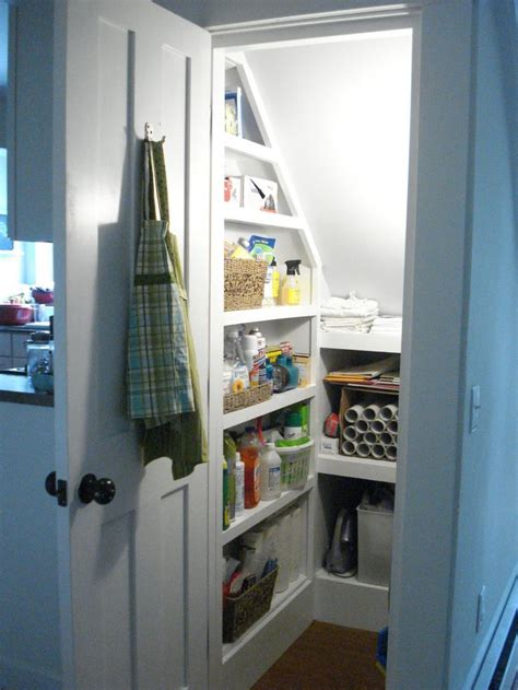 Stair Closet Storage by The 25 Best Stairs Pantry Ideas On