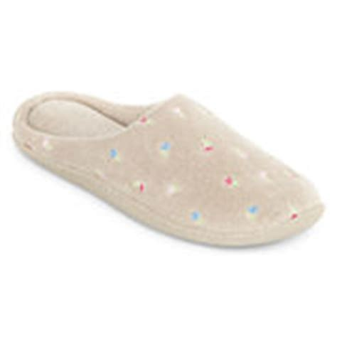 Womens Slippers Moccasin House Slippers For Women Jcpenney