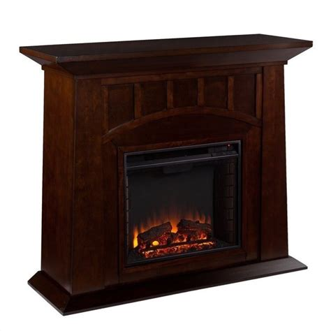 southern enterprises electric fireplace southern enterprises lowery electric fireplace in espresso