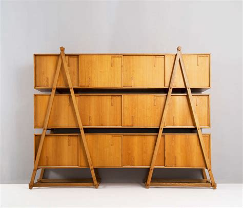 Cabinet Ladder by Unique 1970 S Ladder Style Modular Cabinet At 1stdibs