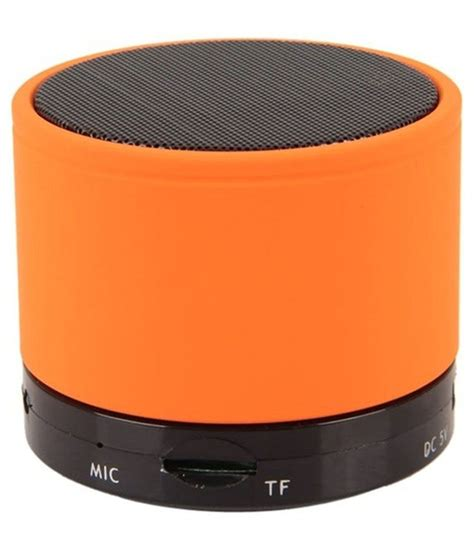 Speaker Bloetooth S 10 adcom s10 bluetooth speaker orange buy adcom s10