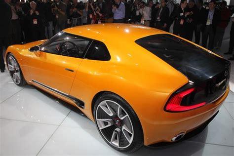 Detroit Kia Kia Gt4 Stinger Concept Detroit Auto Show Autotrader